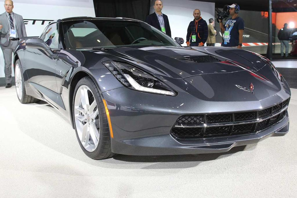 The 2017 Chevrolet Corvette Stingray At Detroit Auto Show