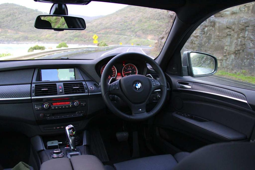 Room with a view: There are few better driving positions than this.