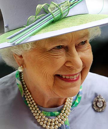 QUEEN ELIZABETH II: Gifts given to her in 2012 ranged from the priceless to the unusual.