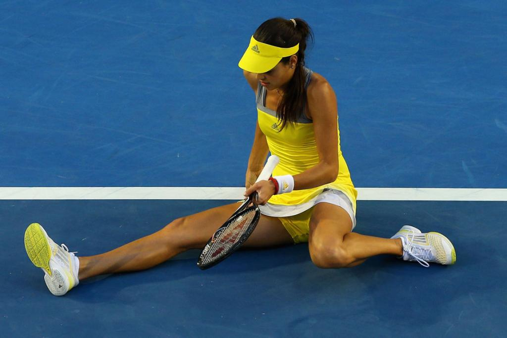 Ana Ivanovic is certain she is in good form despite exiting yet another major before the quarter-finals.