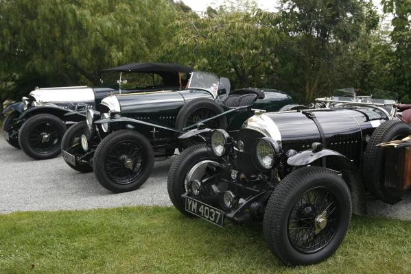Bentleys worth $3 million have slipped quietly out of Timaru as part of a 40-day tour of New Zealand.