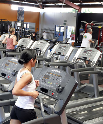 MIND YOUR MANNERS: Etiquette matters at the gym too.