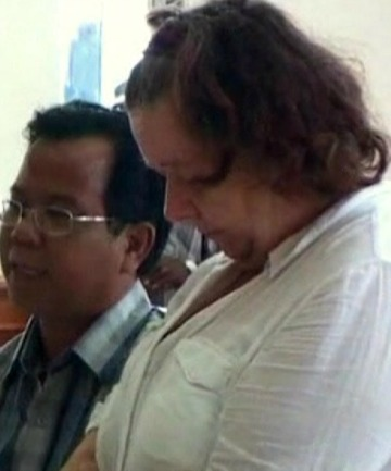 DEATH SENTENCE: Briton Lindsay Sandiford has been given the death sentence in Indonesia for smuggling drugs in from Bangkok.