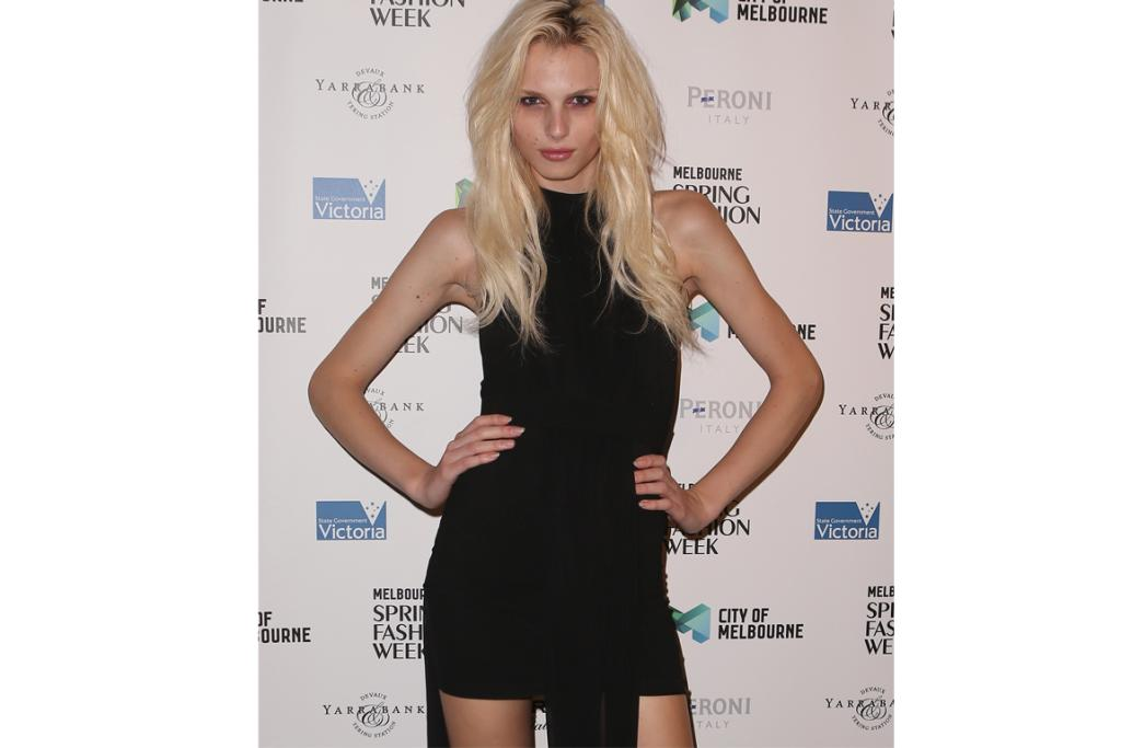 The delicately beautiful Andrej Pejic is a man, and many people seem uncomfortable with that fact...