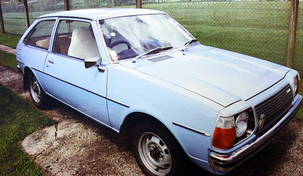 STILL MISSING: Hugh Pickering's pristine 35-year-old Mazda.