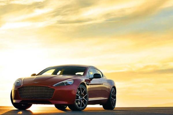 The new Aston Martin Rapide S.