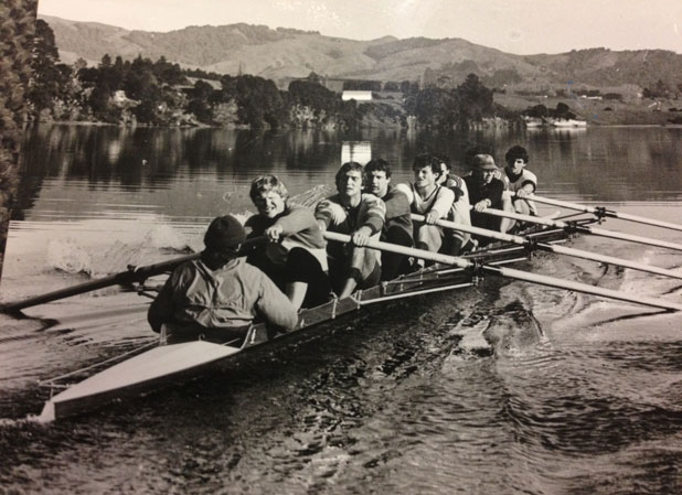 New Zealand mens' eight 1983