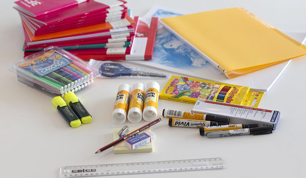Get learning: A $50 stationery kit that is recommended by most primary schools at the beginning of each school year.