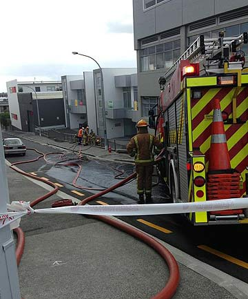 ALERT: Fire crews were called out to Upper Queen St earlier today.