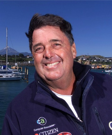 DENNIS CONNER: The American sailor launched Paul Holmes' career after storming out of an interview.