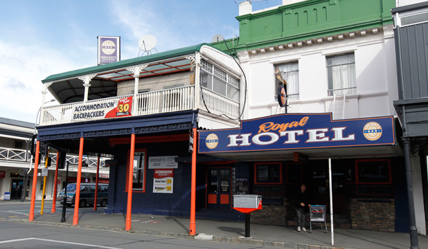 SAME AGAIN: The former Nelson Hotel at the corner of Bridge and Collingwood Street has reverted to its previous name of the Royal Hotel.