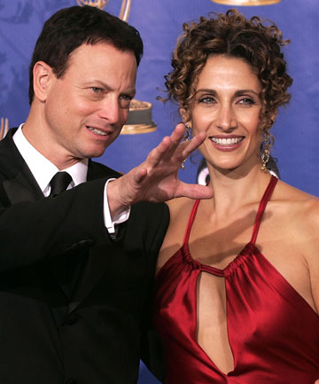 CSI New York stars Gary Sinise and Melina Kanakaredes.
