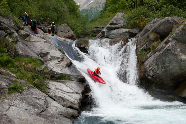 Whitewater Kayaking in Italy