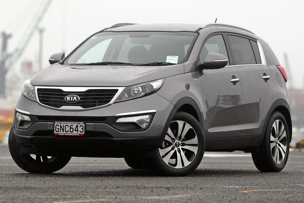 The Kia Sportage Limited Diesel.