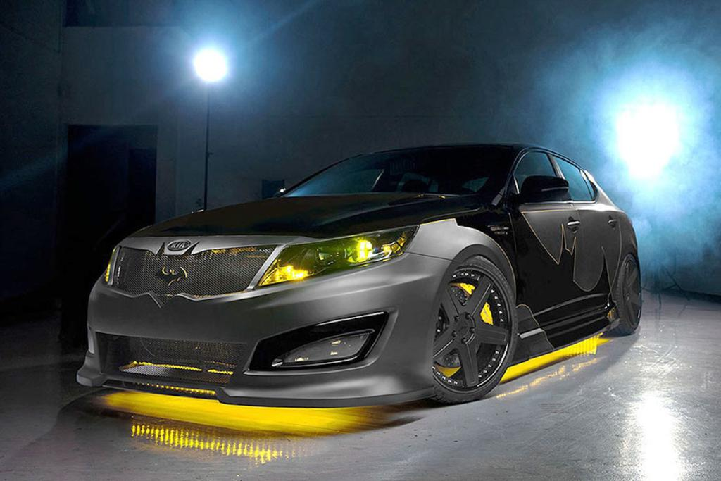 "The ""Batman"" Kia Optima."