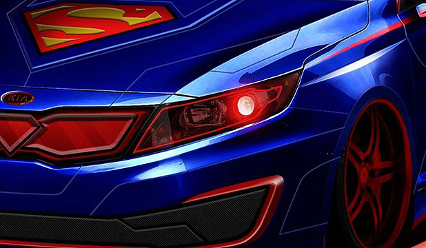 A teaser image from Kia of its