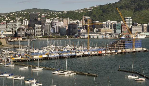CHANGING NEEDS: More new apartments, such as the Clyde Quay Wharf complex pictured, are being built in Wellington.