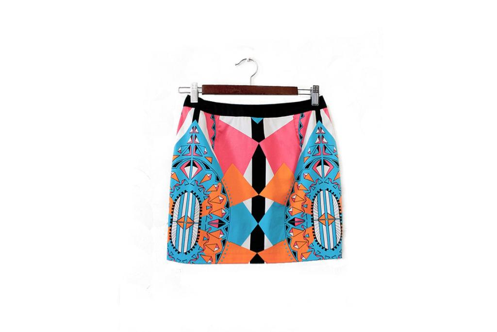 """Bluejuice skirt, $69.90 from Fourfontaine.co.nz: """"This skirt makes me smile, and it makes me smile even more now that it's on sale. Make it a party frock or soften it down with flats for some electrifying weekend wear."""""""