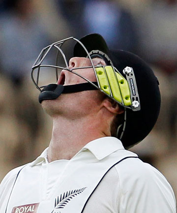 LOOKING UP: Martin Guptill appears to have been thrown a lifeline and will play for the Black Caps against England in the upcoming home test series.