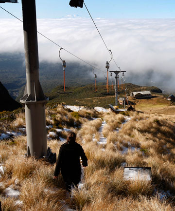 GOING DOWN: The Manganui skifield's T-bar system is getting its first overhaul in 35 years.