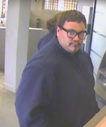 POLICE APPEAL: The man in this picture, who police allege stole passports and money, will be interviewed by police.