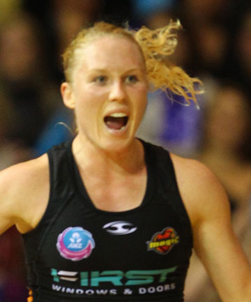 MAGIC STYLE: Netball star Laura Langman is the Waikato's Sportswoman of the Year.