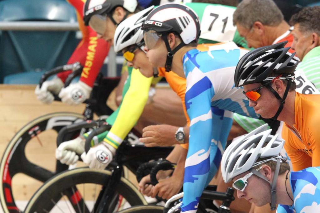 National Track Cycling championships 2013 Elite & Under 19 champs held at Stadium Southland Velodrome in Invvercargill.