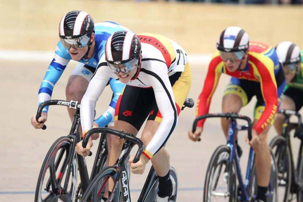 National Track Cycling championships 2013 Elite & Under 19 champs held at Stadium Southland Velodrome in Invercargill.