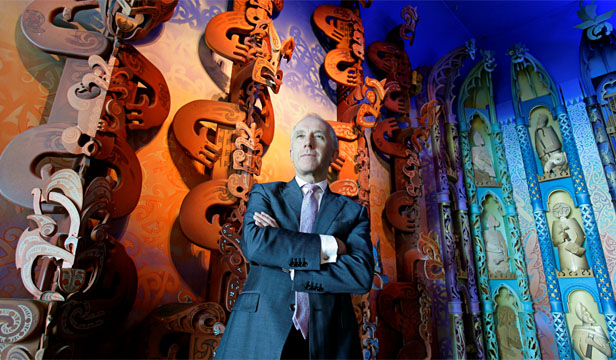 SOCIAL SPACE: Te Papa wants to let many ideas clash within its space, rather than putting culture in a drawer that we close again, says chief executive Mike Houlihan.