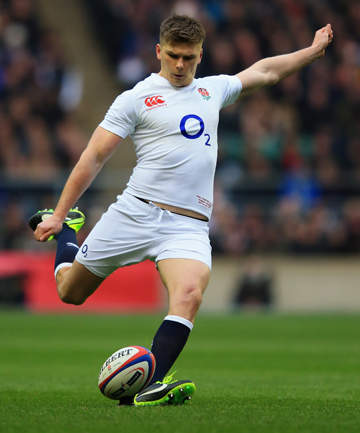 OWEN FARRELL: Is being compared to the great Jonny Wilkinson.