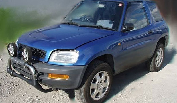 Police found this RAV4, which belonged to Shalvin Prasad in an industrial area.