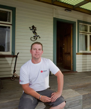 Rising Canterbury house prices has not deterred first-time buyer Jamie Brill, whose decorating business is thriving in the Christchurch rebuild.