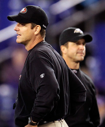 Jim and John Harbaugh