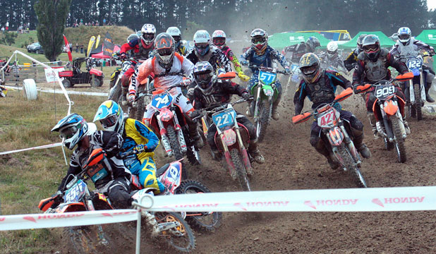 THRILLS AND SPILLS: Trans-Tasman rivalry will be at its best at the opening round of the New Zealand Motocross Championships near Pleasant Point.