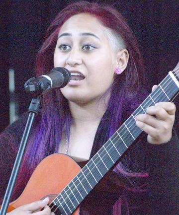 HIGH PROFILE: Well known singer Khona Va'aga Gray is booked to play at the 21st annual Pasifika Festival next month.