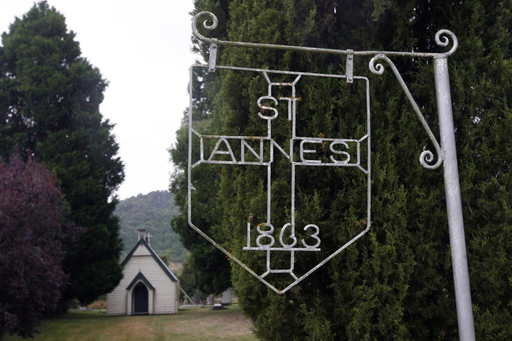 TINY CHURCH: The small site will attract a large gathering when St Anne's Church turns 150.