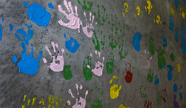 Children hands