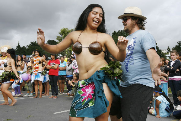 THOSE WERE THE DAYS: Revellers rejoice at Creekfest in 2009. The festival will not go ahead next month due to a lack of funding.