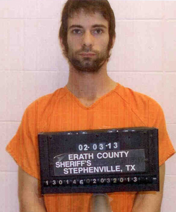 "A Erath County Sherriff's Office booking photo of Eddie Ray Routh who has been charged with shooting and killing of former Navy Seal Sniper Chris Kyle, who was also the author of ""American Sniper""."