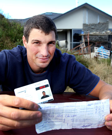 Thirty-four-year-old Tawny Wagstaff didn't have the right ID to buy a box of beer in New Plymouth last week.