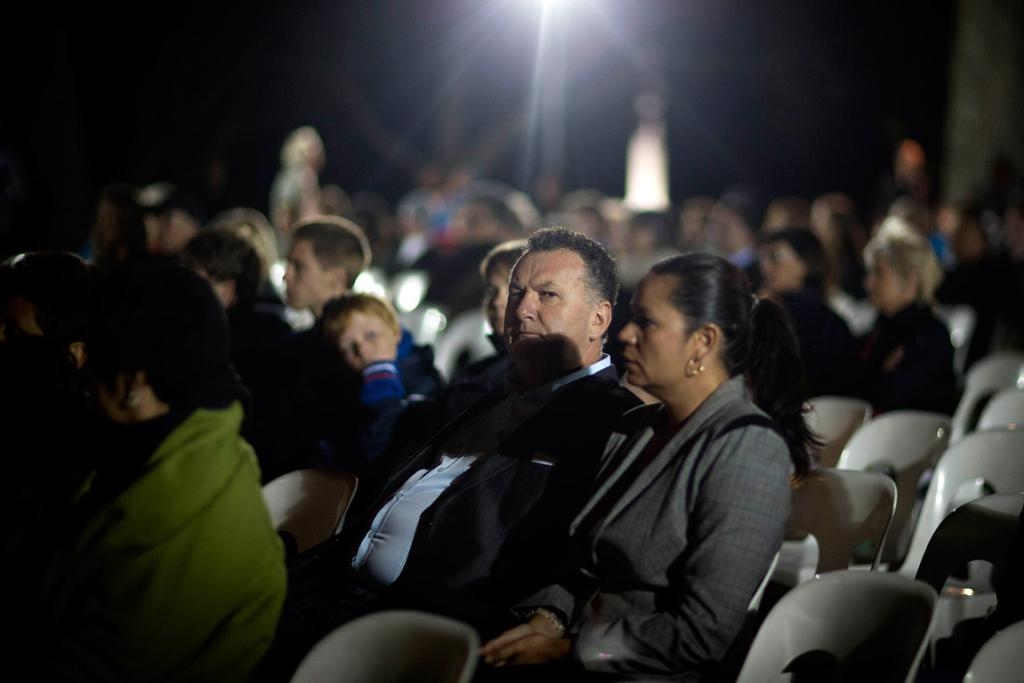 MP Shane Jones is pictured at the dawn service.