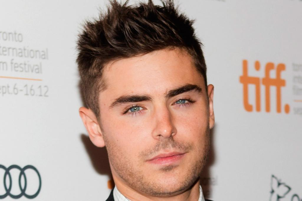 Zac Efron's eyes and hair were in hot demand.