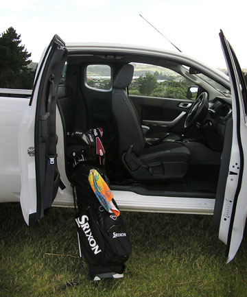 The Ford Ranger ute: Plenty of room for the important things in life.