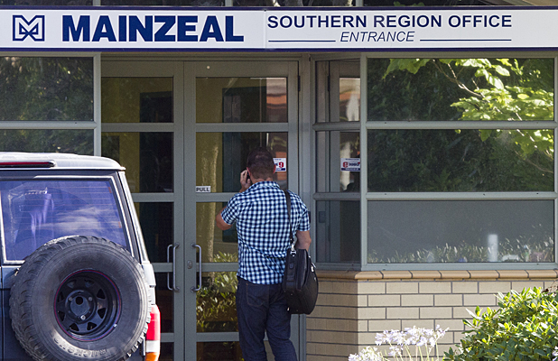 Mainzeal's southern region office in Riccarton Rd.