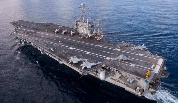 USS Harry S Truman aircraft carrier