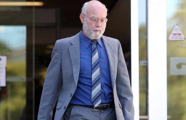 CHARGES ADMITTED: John Raymond McNeil leaves court today.