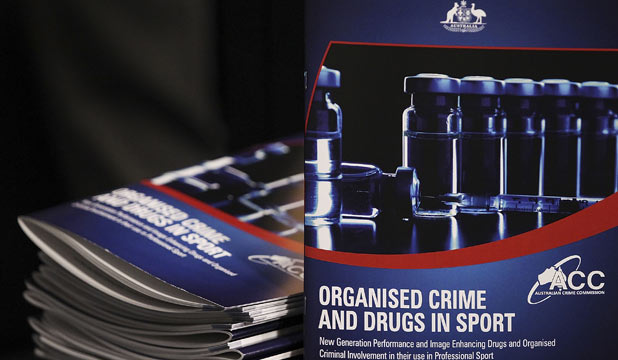 GAME-CHANGING: The Government's report on organised crime and drugs in sport.