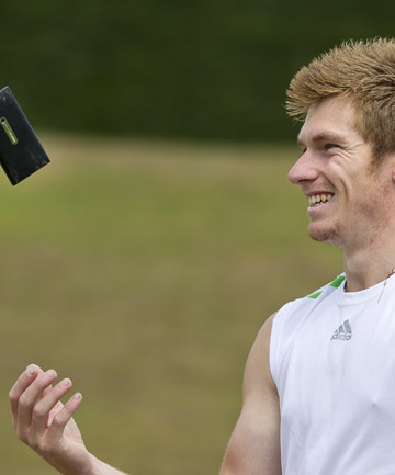 CELLPHONE CHUCKER: Five-time NZ junior javelin title holder Ben Langton Burnell reckons he can hurl his cellphone further than the current international mobile phone throwing record.