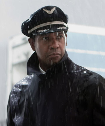 FLYING HIGH: Denzel Washington in Flight. There's probably no one alive who could play this role better.