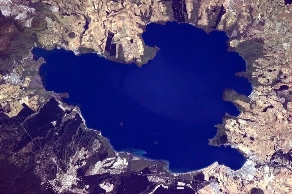 Taupo from Space